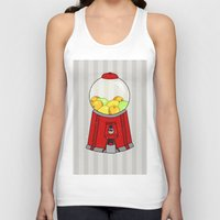 gumball Tank Tops featuring Gumball Machine. by Bedelia June