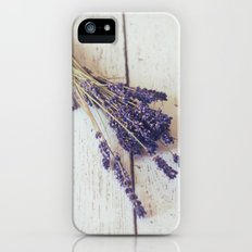 lavender bunch Slim Case iPhone (5, 5s)
