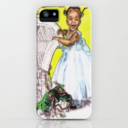 LITTLE CITY ANGEL iPhone Case