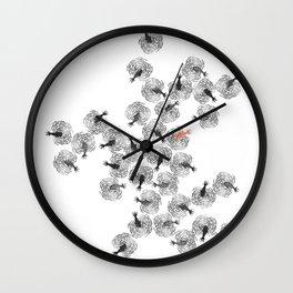 MECANIQUE DES TRUITES Wall Clock