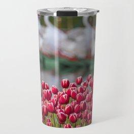 Spring Roses in the Boston Public Garden Travel Mug