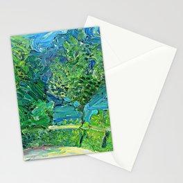 Richard Gerstl Lakeside Road near Gmunden Stationery Cards
