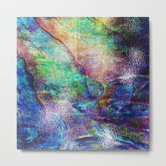 Mermaid Sea Ocean Shell Metal Print