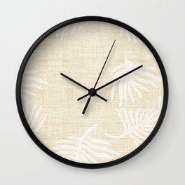 PALM LINEN Wall Clock