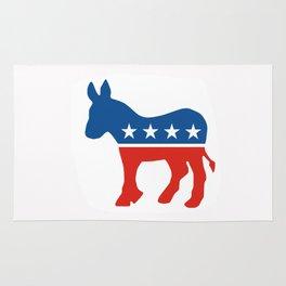 democrat party Rug