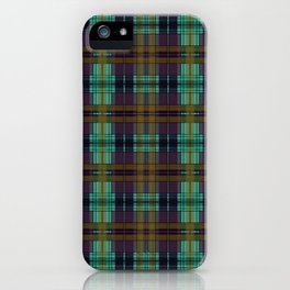 Colorful Plaid iPhone Case