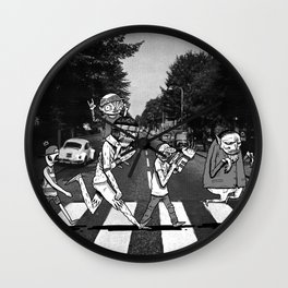 SCABBY RD. Wall Clock
