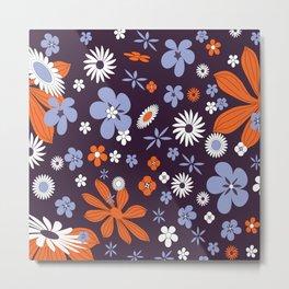 Flower Disaster Metal Print
