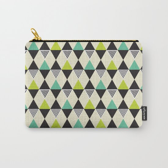 Mid-century pattern Carry-All Pouch