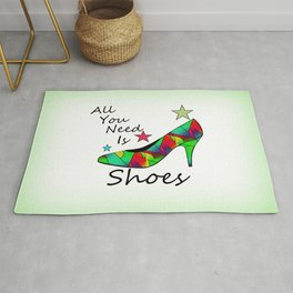 All You Need Is Shoes Rug