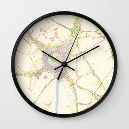 Neuron, brain cell. Wall Clock