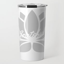 Grateful Lotus Travel Mug