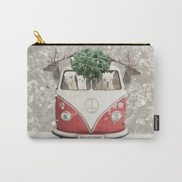 ALPACA ALPACA ALPACA - NEVER STOP EXPLORING - X-MAS Carry-All Pouch