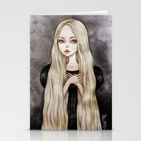 rapunzel Stationery Cards featuring Rapunzel by Black Fury