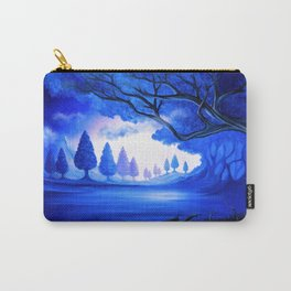 Mysterious Lake Carry-All Pouch