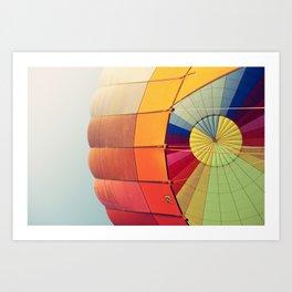 Ballooning Art Print