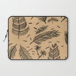 Kraft Paper Pine Laptop Sleeve