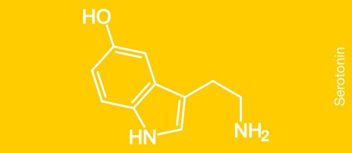 Serotonin Molecule Coffee Mug