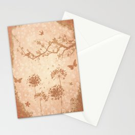 Ode to spring champagne recolor Stationery Cards