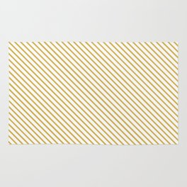 Spicy Mustard Stripe Rug