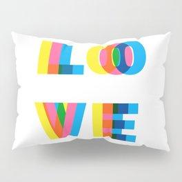 CMYK LOVE Pillow Sham