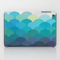 teal iPad Cases featuring Teal by Julia Alison