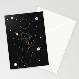 Rebirth - Moon Phase Illustration Stationery Cards