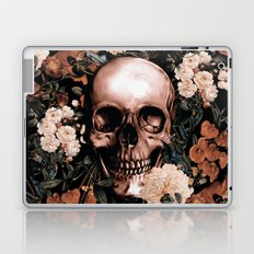 SKULL AND FLOWERS II Laptop & iPad Skin