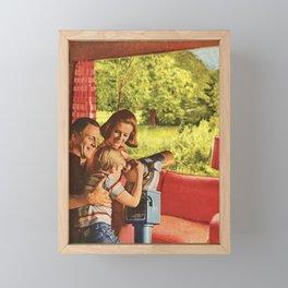 Staycation Framed Mini Art Print