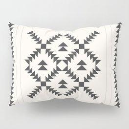 Black and White Quilt Block Pillow Sham