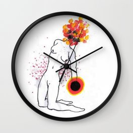 dotted mind Wall Clock
