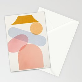 Abstraction_Home_Sweet_Home Stationery Cards