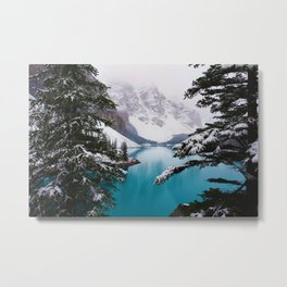 Paradise in the Mountains (Color) Metal Print