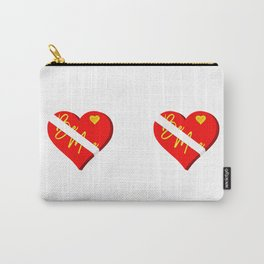 Box of Chocolates Valentines Day Carry-All Pouch