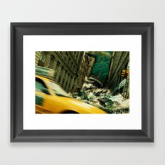 No God's Gonna Save You Now Framed Art Print