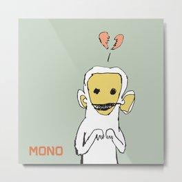 mono Metal Print