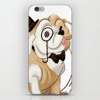 classy iPhone & iPod Skins featuring Classy by Jelly and Paul
