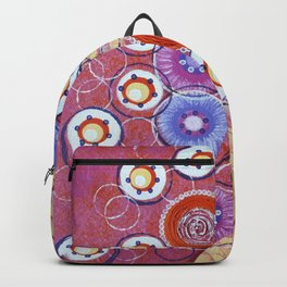Spring cool flowers Backpack