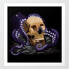 Octo Skull Art Print