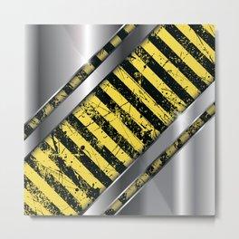 Danger II Metal Print