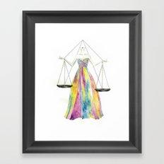Zodiac - Libra Framed Art Print