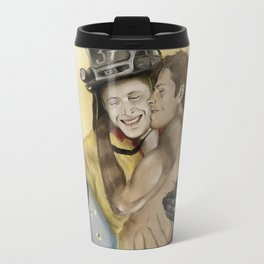 Cat on a hot tin roof Travel Mug