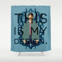 Hannibal - Will Graham Shower Curtain