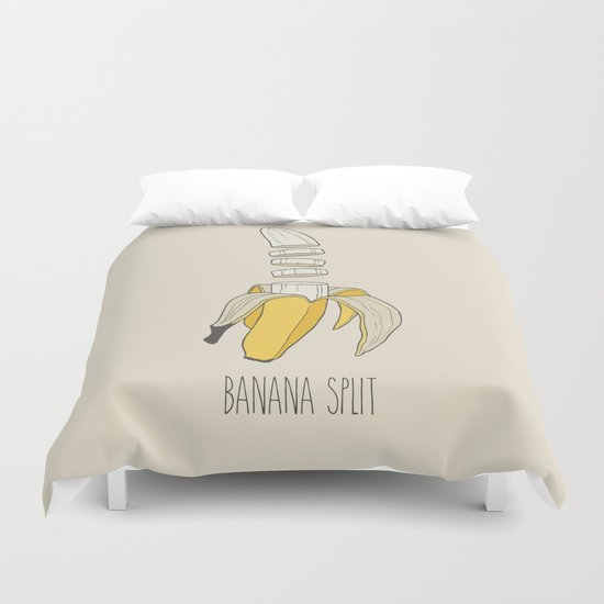 Banana Split Colour Duvet Cover