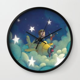 Dreams in the Stars Wall Clock