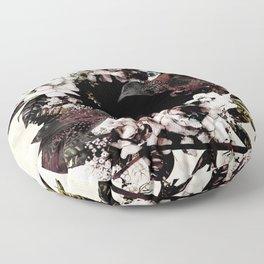 DEEP ROLLERS (STARLINGS) Floor Pillow