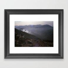 Angeles National Forest Framed Art Print