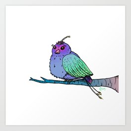 A Chirp Off the Old Block Art Print