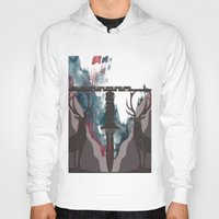 skyfall Hoodies featuring Skyfall Movie Poster by Salmanorguk