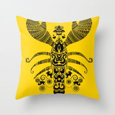 17th Century Lobster Throw Pillow